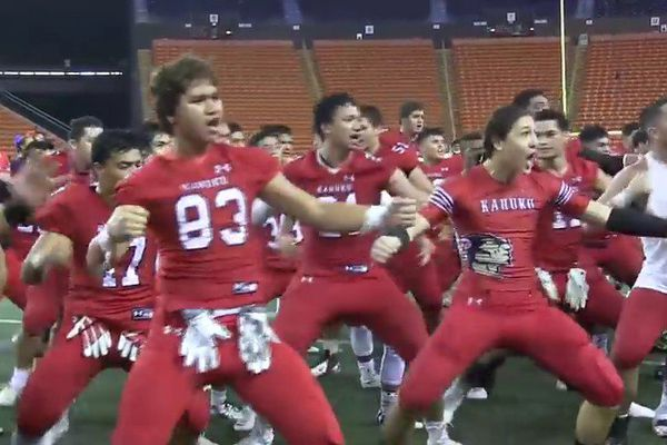 Haka equipe Hawaienne
