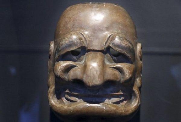 Masque chirac japon