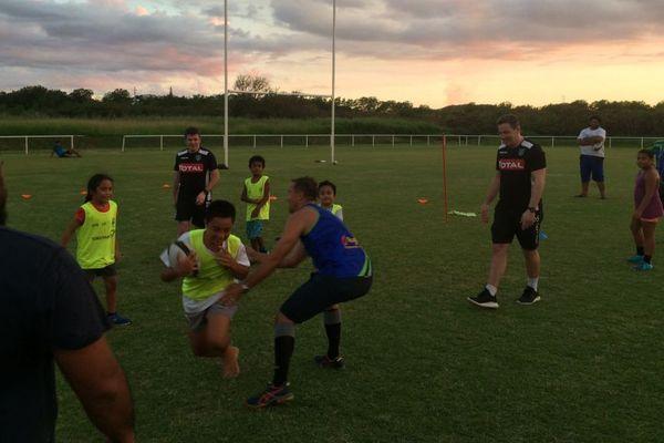 Rugby : formation avec l'encadrement de la section Paloise