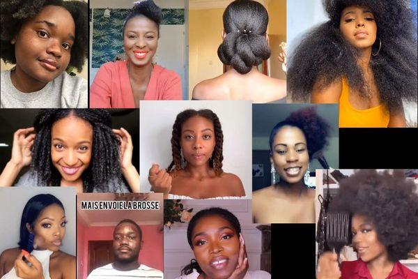 confinement et beauté afro sur les réseaux sociaux