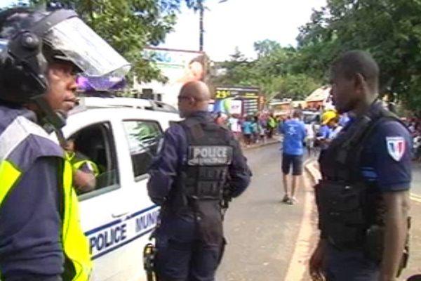 Violences Mayotte course de pneus