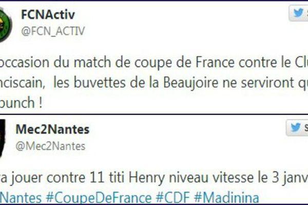 twitts FC Nantes