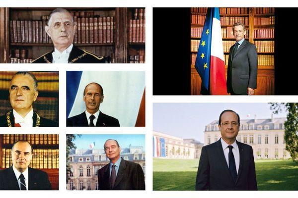 Les présidents de la 5ème République