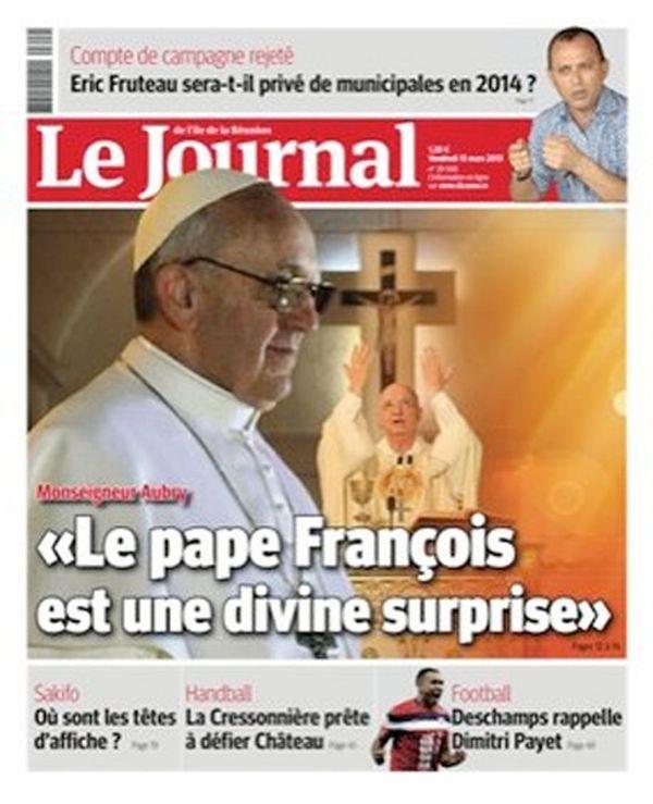 Le Journal de l'île de la Réunion du 15 mars 2013