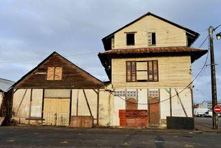 La maison Aubin-Hitier ancien entrepôt à Cayenne