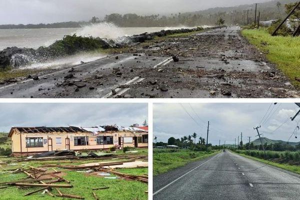 Degats Fidji