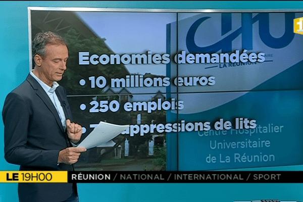 Le+, crise financière au CHU