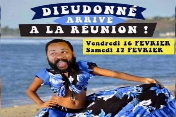 Dieudonné à La Réunion