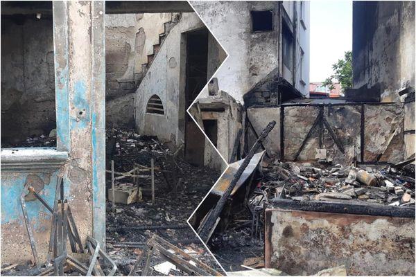 Maisons brulées / Terres-Saintville / Fort-de-France