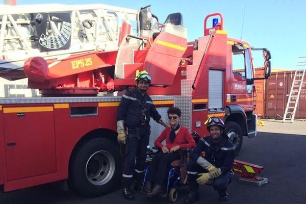 Les pompiers du Port se mobilisent pour le Téléthon