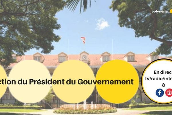 élection du président gouvernement