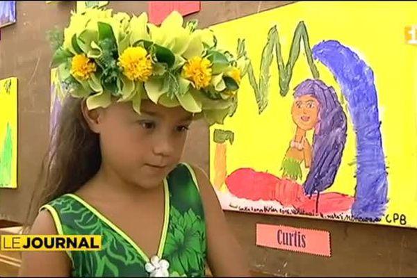Légendes polynésiennes : L'école Ohiteitei expose
