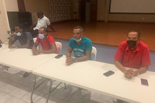 Réunion acteurs cyclisme Martinique