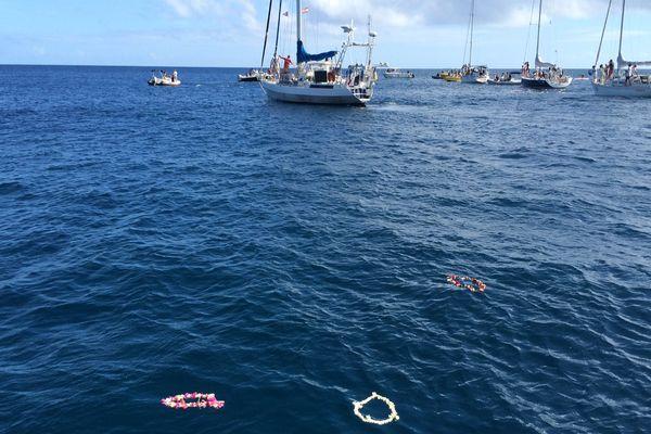 Hommage à Laurent Bourgnon en baie de Matavai