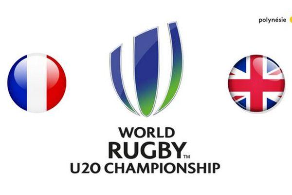 Mondial de rugby U20 : france /angleterre