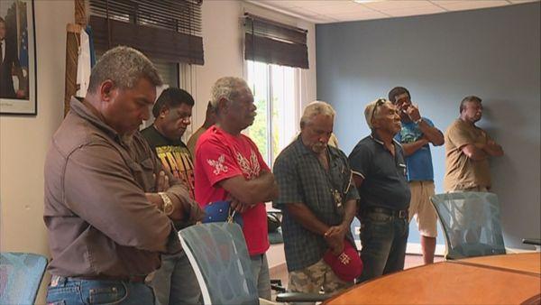 Réouverture de la mine de Kouaoua, geste coutumier du 25 octobre 2018