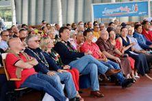 Le congrès se tenait sous la halle de l'Arène du Sud, ce 31 juillet, à Païta.