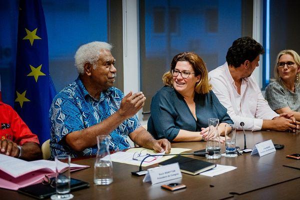 NICKEL, accord politique sur la cession de l'usine du Sud, Roch Wamytan et Sonia Backès, 4 mars 2021