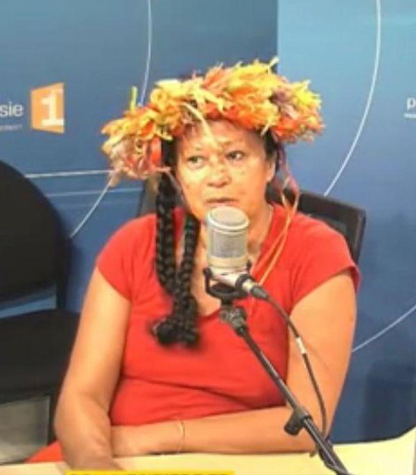 Makau Foster, invitée de l'émission Api Nui - 02 06 2016