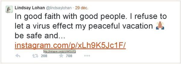 Twitter Lindsay Lohan