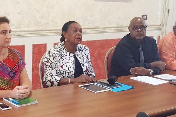 Conférence de presse de la pdte du Conseil de surveillance du CHU