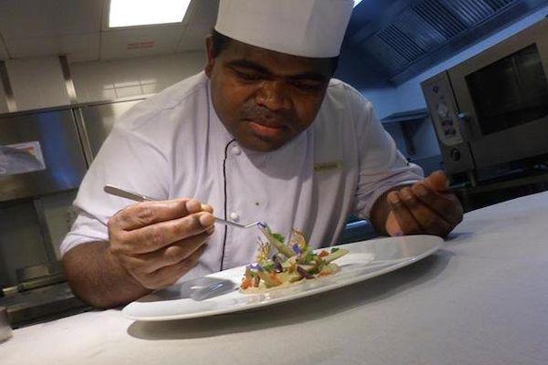 Alphonse KOCE cuisinier de maré