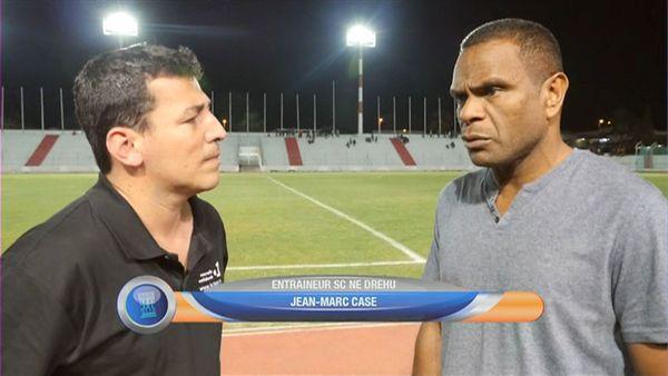 Jean-Marc Case, entraîneur de Ne Drehu, interviewé après la demi-finale 2018 de la coupe par Martin Charmasson.