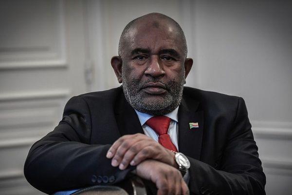 Le président des Comores Azali Assoumani, le 25 janvier 2019 à Paris.