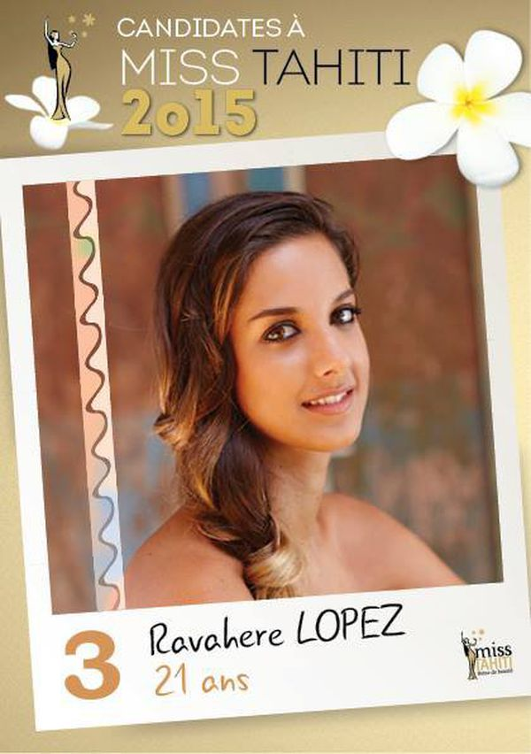 Ravahere LOPEZ, candidate n°3