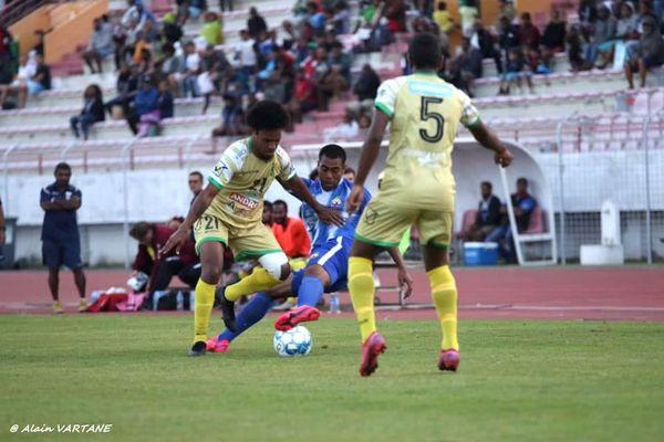 Victoire de Magenta sur Hienghène, troisième journée de super ligue 2020, stade Numa-Daly