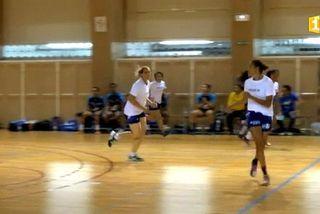 Handball : Leila et ses dalonnes