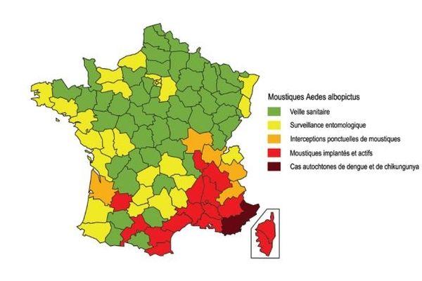 Vigilance moustiques métropole dengue chikungunya