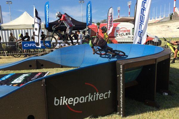 Premier Bikette riders pumptrack contest, vélodrome de Magenta (25 février 2018)