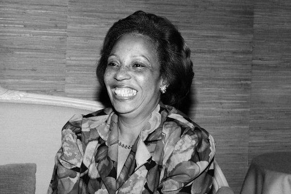 Lucette Michaux-Chevry (août 1987)