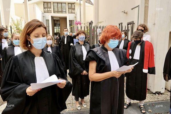 A Saint-Denis, les magistrats se rassemblent contre Eric Dupond-Moretti