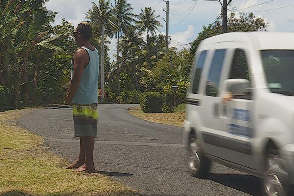 Route dangereuse presqu'île