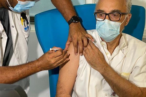 Bruno Jarrige, médecin réanimateur au CHUG et directeur médical de la crise Covid, en Guadeloupe