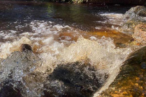La cascade du site Chuity Ya Naï Kaba