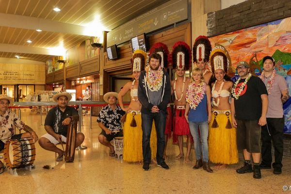 Olivier De Benoist est arrivé à Tahiti !