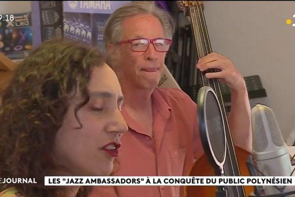 Les « Jazz ambassadors » en concert ce week end à Tahiti