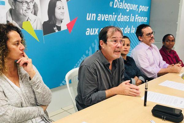 Calédonie Ensemble : conférence de presse de