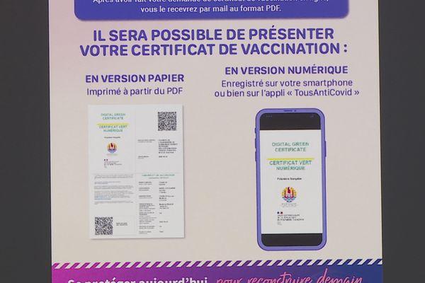 Le certificat de vaccination local reconnu au niveau national