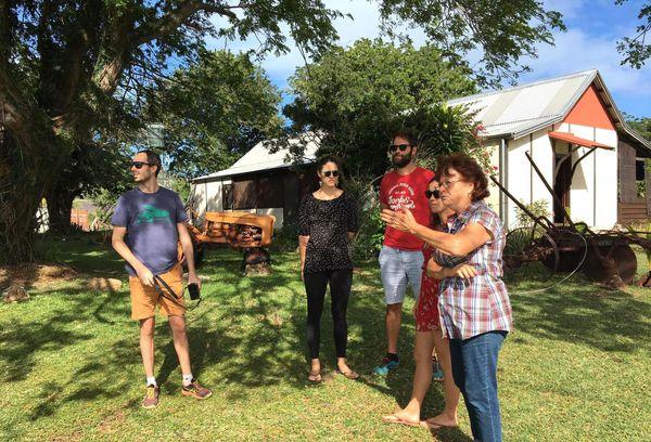 Touristes à Voh, mai 2020, Sylvianne Brésil