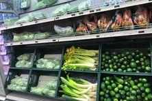 Des légumes dont les  prix varient selon les mois