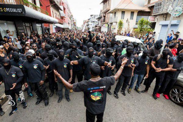 Marche du 28 mars en Guyane