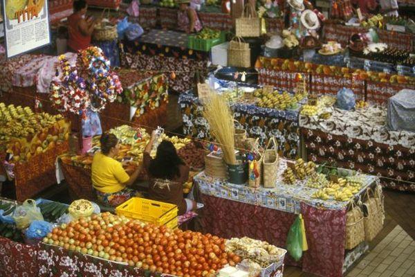 Papeete, avec son célèbre marché, est l'endroit le plus photographié de Polynésie.