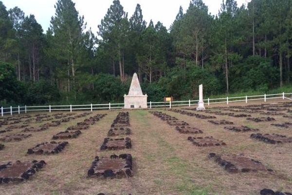 Le cimetière des Communards sur l'île des Pins