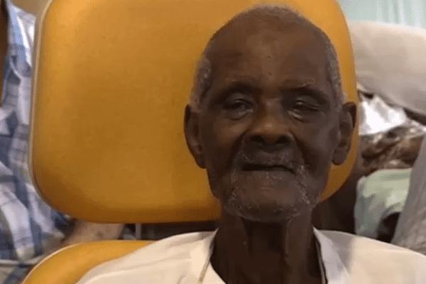 Sylvestre Mancel ancien agriculteur a fêté ses 101 ans