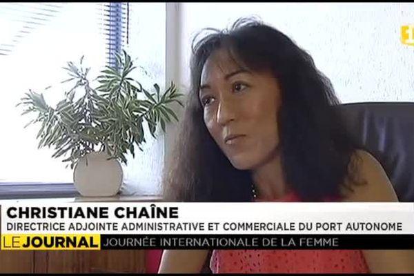Portrait de femmes : Christiane Chaine, directrice adjointe du port autonome