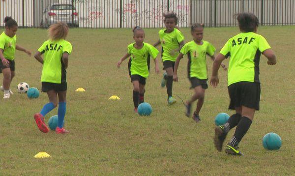 ASAF : entrainement des moins de 13 ans